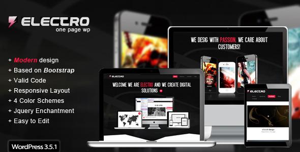 Electro – Responsive WordPress Theme