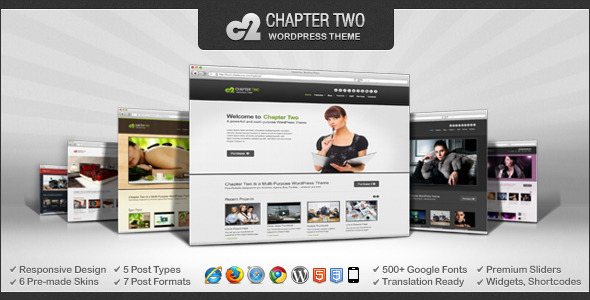 Chapter Two – WordPress Theme