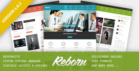 Reborn – Premium Multipurpose WP Theme