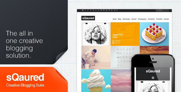 sQuared – Creative Blogging Suite