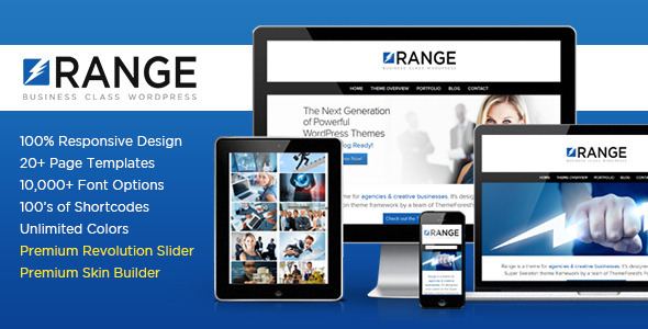 Range | Business Class WordPress