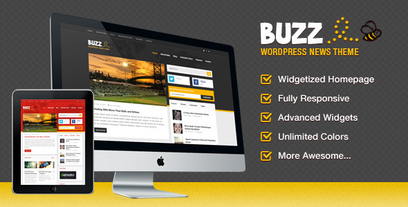 Buzz, a Fun News Theme for WordPress