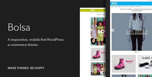Bolsa – A Responsive WordPress E-commerce Theme