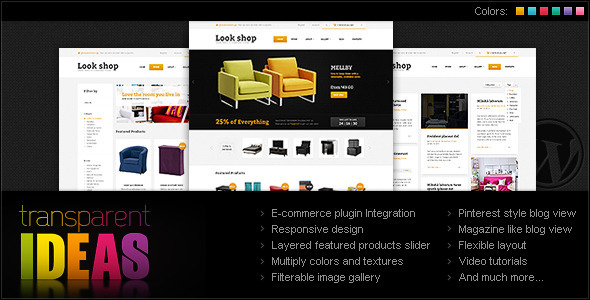 Lookshop – WordPress eCommerce Theme