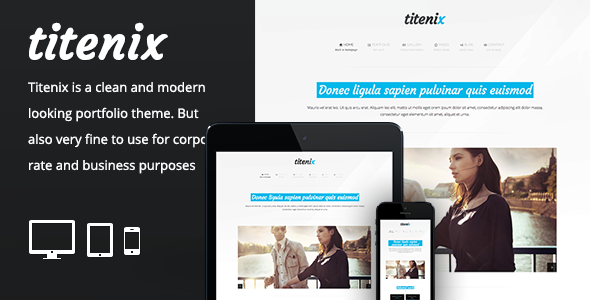 Titenix – Responsive Portfolio Business Theme