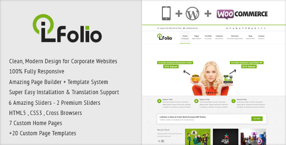 LioFolio | Responsive Multi-Purpose Theme