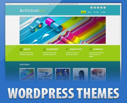 Actiniumize  WordPress Theme Free Download