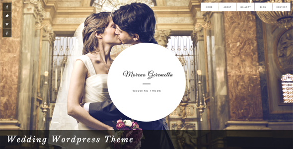 Moreno – Responsive Wedding WordPress Theme