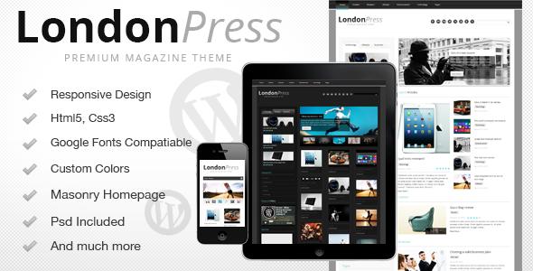 Londonpress – Responsive Blog Magazine