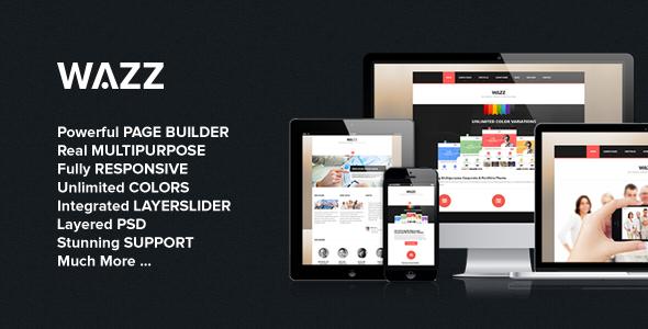 Wazz – Responsive MultiPurpose Theme