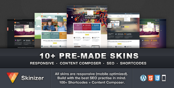 Skinizer – Multipurpose WordPress Theme