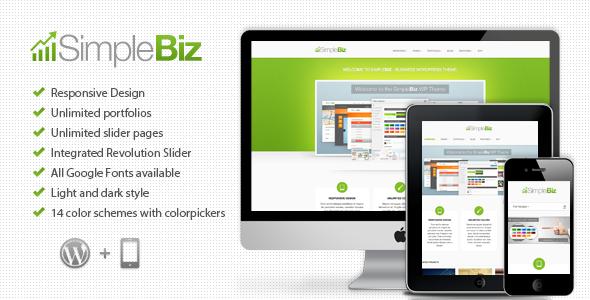 SimpleBiz – WP Responsive Theme
