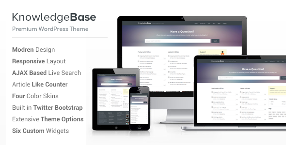 Knowledge Base – A WordPress Wiki Theme