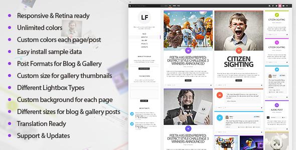 LiquidFolio – Portfolio Premium WordPress Theme