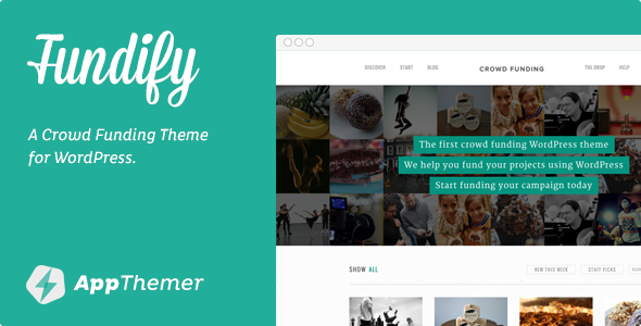 Fundify – Crowd Funding WordPress Theme