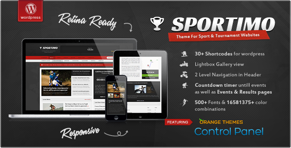 Sportimo – Sport & Events Magazine Theme