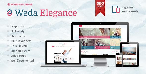Weda Elegance | Powerful WordPress Theme