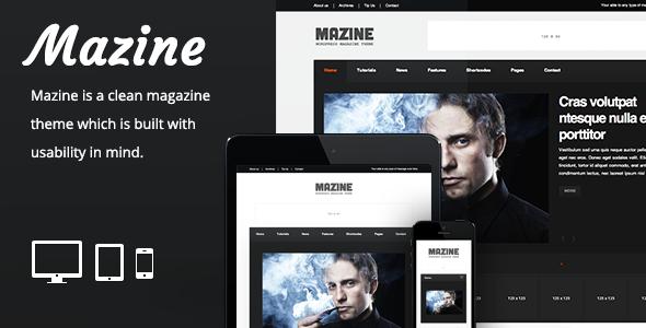 Mazine – Responsive Magazine Theme