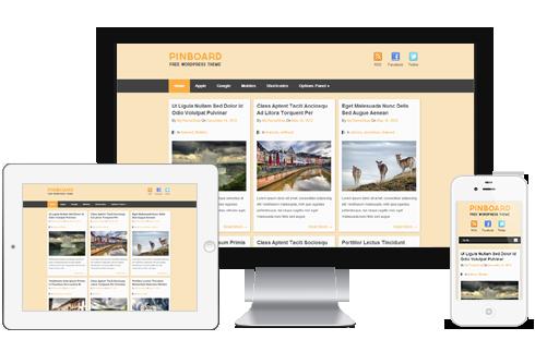 Pinboard  WordPress Theme Free Download