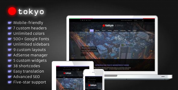 Tokyo – Business WordPress Theme