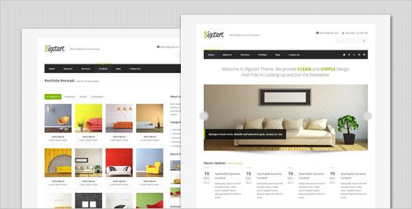 BigStart – Clean and Flexible WordPress Theme