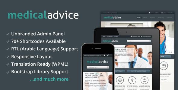 Medical Advice – Responsive WordPress Theme