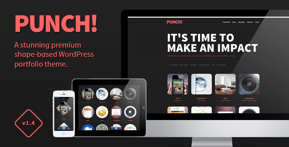 Punch – Responsive Portfolio WordPress Theme