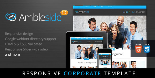 Ambleside – Premium WordPress Theme