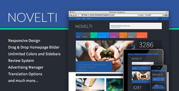 Novelti – Responsive Magazine WordPress Theme