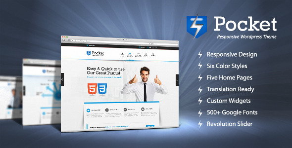Pocket Responsive WordPress Theme