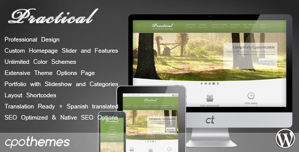 Practical – Corporate & Portfolio Theme