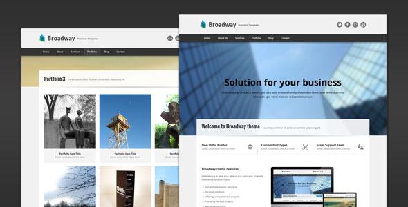 Broadway – Modern Business WordPress Theme