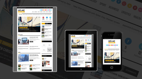 Helme: Magazine WordPress Theme