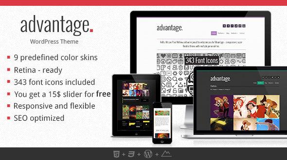 Advantage – Creative Portfolio Theme