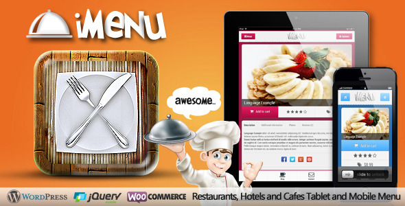 iMenu – Restaurant Tablet and Mobile Retina Menu