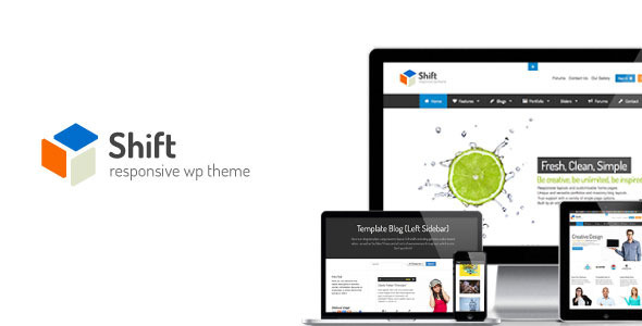 Shift – Flexibly Creative WP Theme