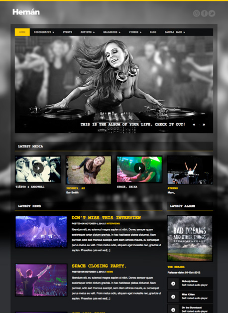 Hernán | The Best Free and Premium Wordpress Themes For Download