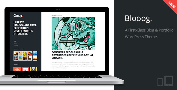 Blooog | Premium Blog & Portfolio Theme