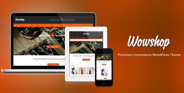 WowShop – Premium Ecommerce WP Theme