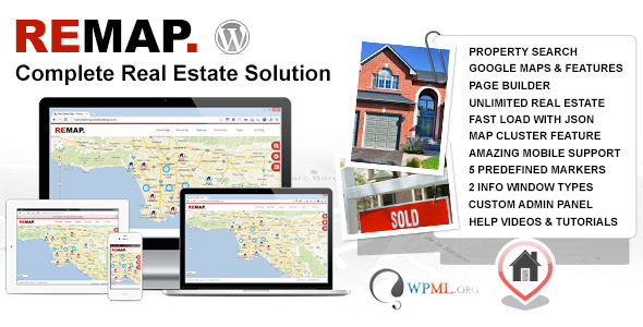 REMAP Real Estate Premium WordPress Template