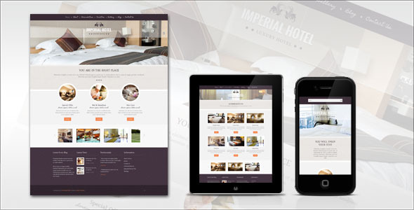 Imperial: Hotel WordPress Theme