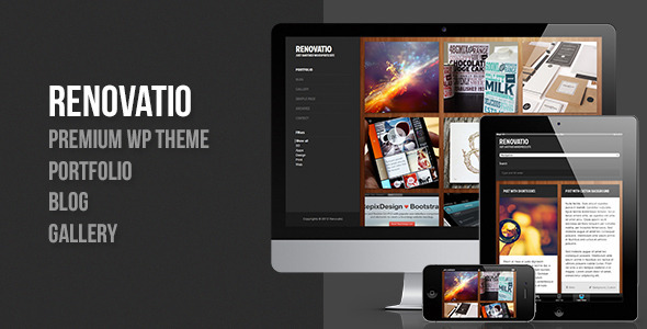 Renovatio – Responsive Fullscreen WordPress Theme