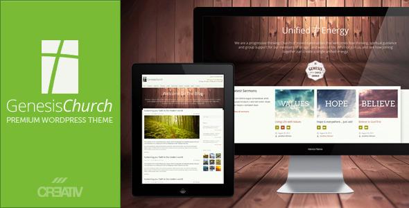 Genesis Church – Premium Responsive WordPress Theme