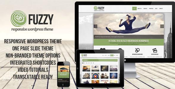 FUZZY – jQuery responsive wordpress theme