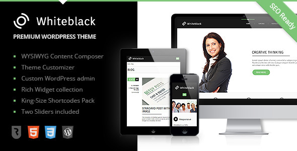WhiteBlack – Premium Business WordPress Theme