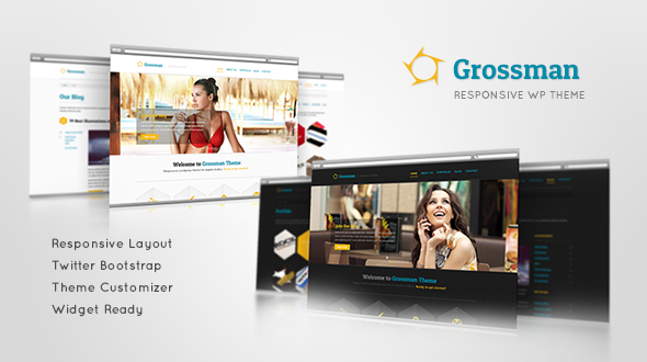Grossman Responsive WordPress Theme