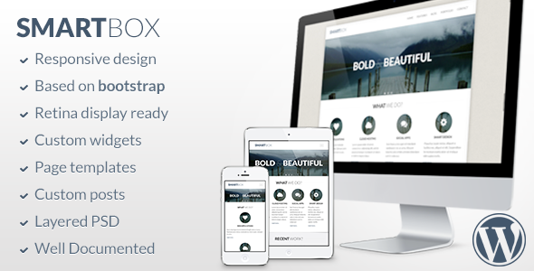 SmartBox – Responsive WordPress Bootstrap Theme