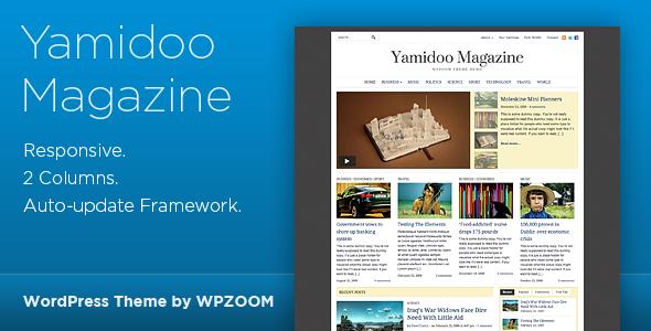 Yamidoo Magazine – WordPress Theme