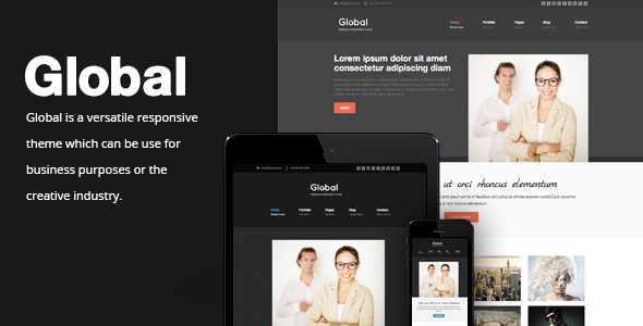 Global – Responsive Business Portfolio Theme