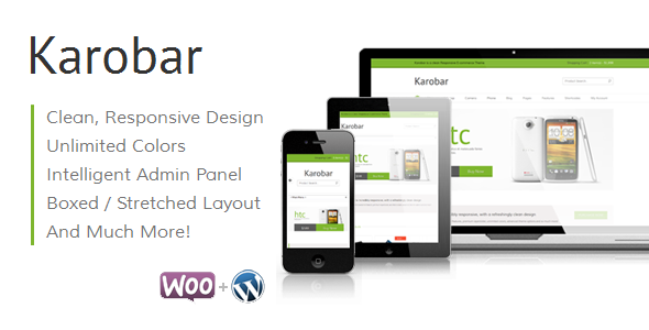 Karobar – a Clean Responsive E-commerce Theme